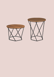 Sets de mesas laterales