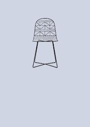 Sillas de metal