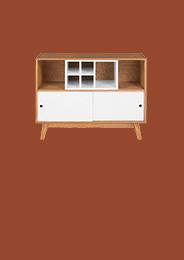 Vitrinas y muebles de bar